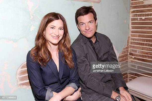 Actors Kathryn Hahn and Jason Bateman attend Funny Or Die Clubhouse Facebook PopUp HQ @ SXSW Day 1 on March 8 2014 in Austin Texas
