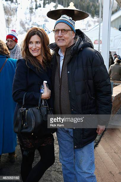 Actors Kathryn Hahn and Jeffrey Tambor Stella Artois At The Village At The Lift 2015 Day 1 on January 23 2015 in Park City Utah