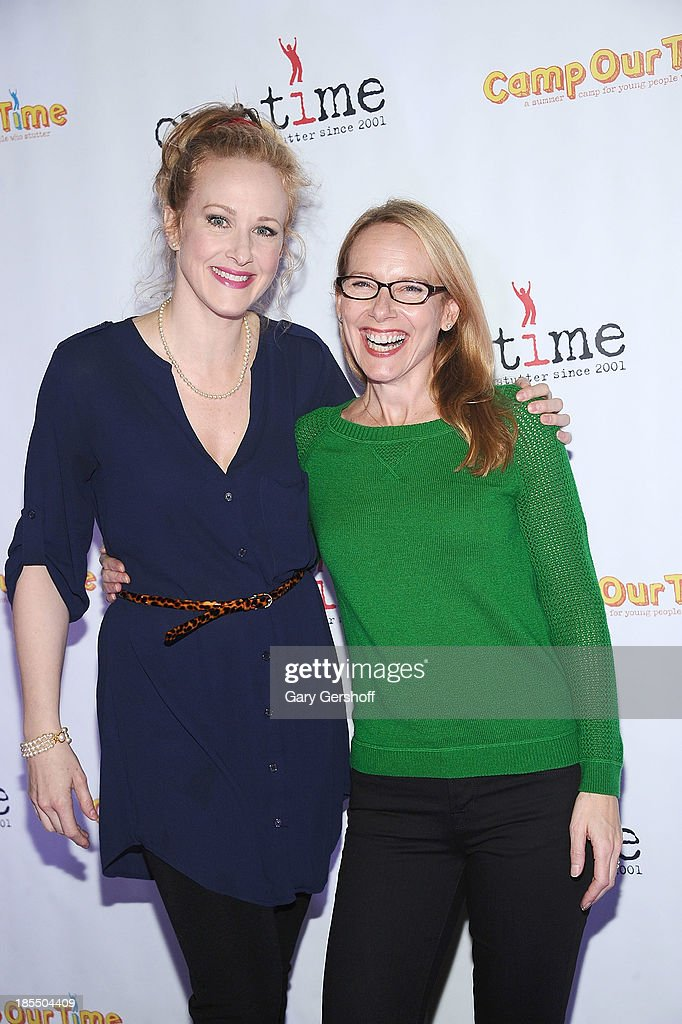 Actors <a gi-track='captionPersonalityLinkClicked' href=/galleries/search?phrase=Katie+Finneran&family=editorial&specificpeople=778124 ng-click='$event.stopPropagation()'>Katie Finneran</a> (L) and <a gi-track='captionPersonalityLinkClicked' href=/galleries/search?phrase=Amy+Ryan&family=editorial&specificpeople=227236 ng-click='$event.stopPropagation()'>Amy Ryan</a> attend the Paul Rudd 2nd Annual All-Star Bowling Benefit supporting Our Time at Lucky Strike on October 21, 2013 in New York City.