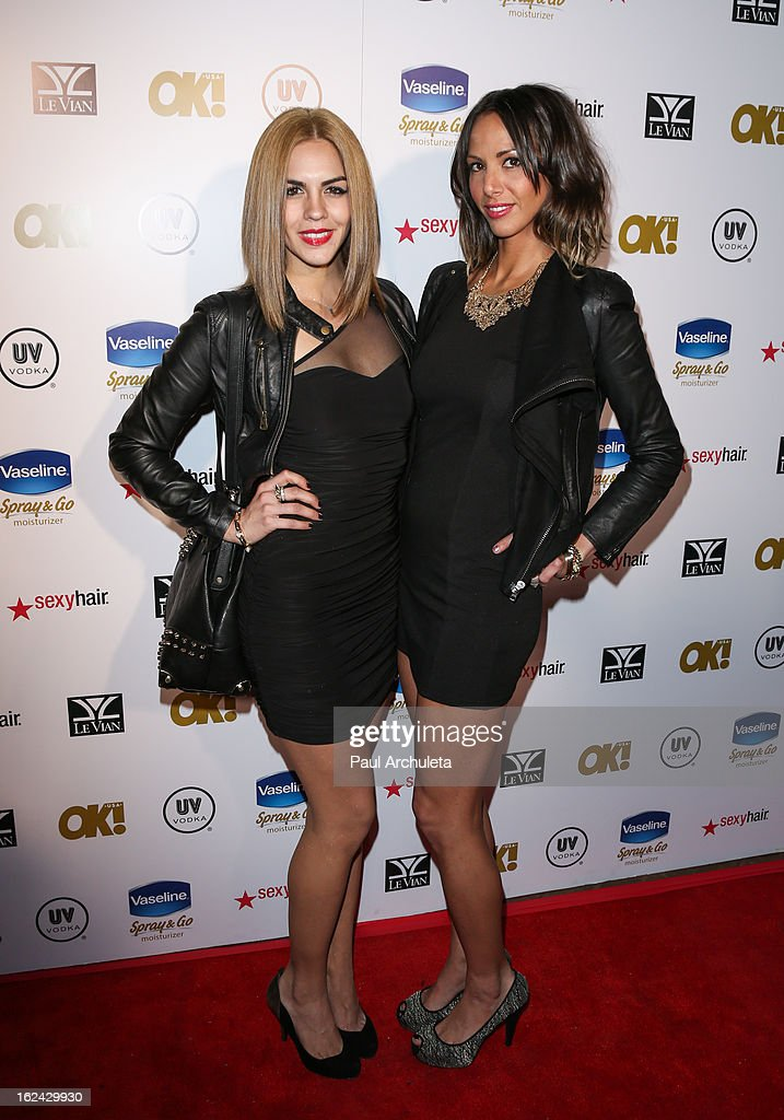 Actors Katie Maloney (L) and Kristen Doute (R) attend OK! Magazine's Pre-Oscar party at The Emerson Theatre on February 22, 2013 in Hollywood, California.