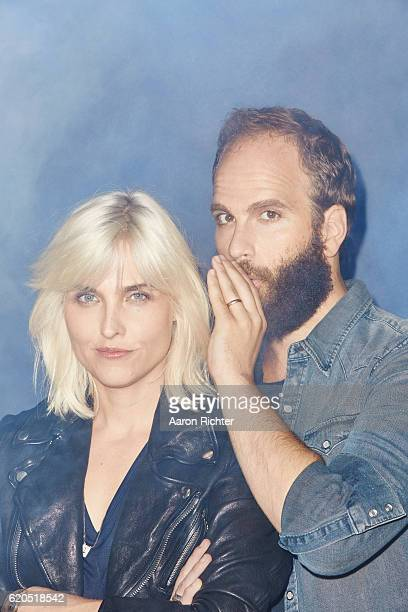 Actors Katja Blichfeld and Ben Sinclair are photographed for GQ Magazine US on July 9 2016 in Brooklyn New York ON EMBARGO UNTIL DECEMBER 1 2016