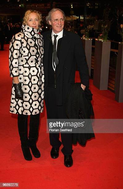 Actors Katja Riemann and August Zirner attend the 'Tuan Yuan' Premiere during day one of the 60th Berlin International Film Festival at the Berlinale...