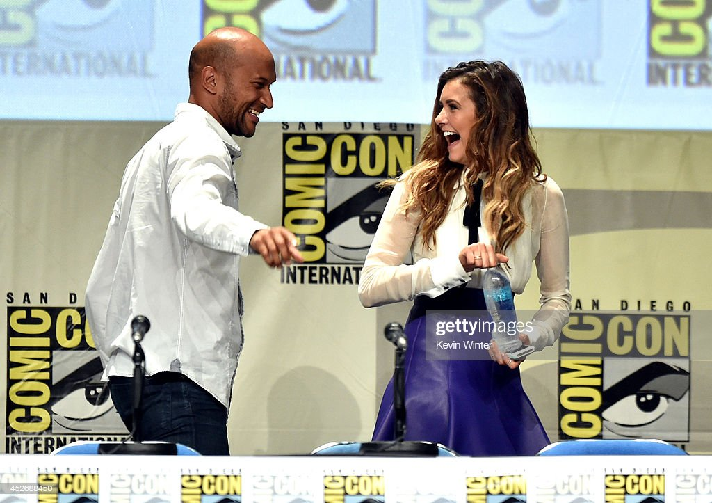 Actors Keegan-Michael Key and Nina Dobrev attend the 20th Century Fox presentation during Comic-Con International 2014 at San Diego Convention Center on July 25, 2014 in San Diego, California.