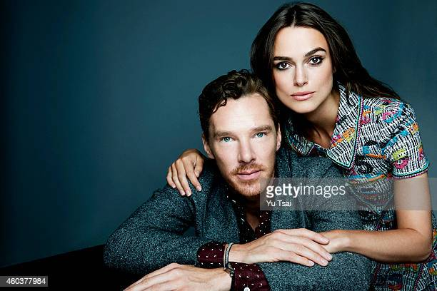 Actors Keira Knightley and Benedict Cumberbatch are photographed at the Toronto Film Festival for Variety on September 6 2014 in Toronto Ontario
