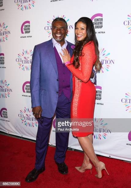 Actors Keith David and Merle Dandridge attend the Center Theatre Group's 50th Anniversary Celebration at Ahmanson Theatre on May 20 2017 in Los...