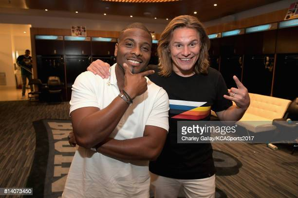 Actors Kel Mitchell and Tony Cavalero attend Nickelodeon Kids' Choice Sports Awards 2017 at Pauley Pavilion on July 13 2017 in Los Angeles California