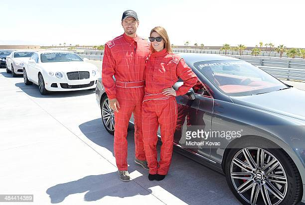 Actors Kellan Lutz and Ashley Greene attend Oakley Learn To Ride With O'Gara Coach Bentley Beverly Hills and Bentley Westlake At Thermal Club on...