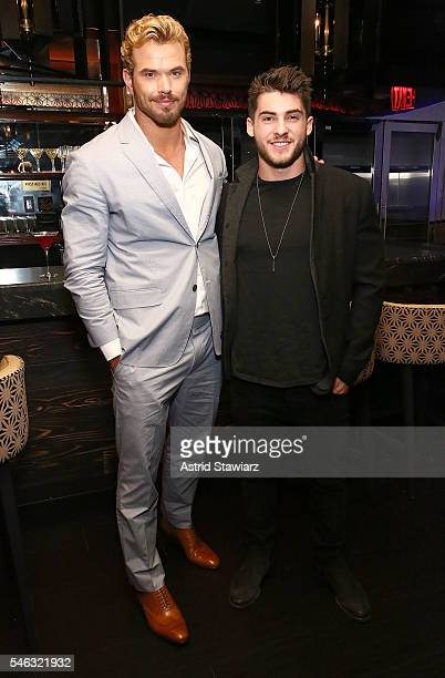 Actors Kellan Lutz and Cody Christian attend the Related Garments Dinner at MEGU on July 11 2016 in New York City