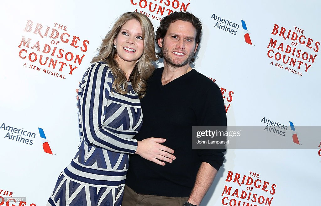 Actors <a gi-track='captionPersonalityLinkClicked' href=/galleries/search?phrase=Kelli+O%27Hara+-+Actress&family=editorial&specificpeople=225013 ng-click='$event.stopPropagation()'>Kelli O'Hara</a> and Steven Pasquale attend 'The Bridges of Madison County' Cast Photo Call at The New 42nd Street Studios on December 16, 2013 in New York City.