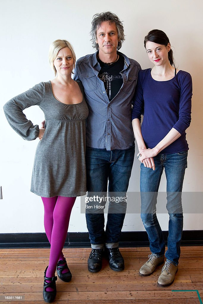 Actors Kellie Overbey, Quentin Mare and Renata Friedman attend the 'Sleeping Rough' Cast Photo Call at Playwrights Horizon's North Rehearsal Studio on March 11, 2013 in New York City.