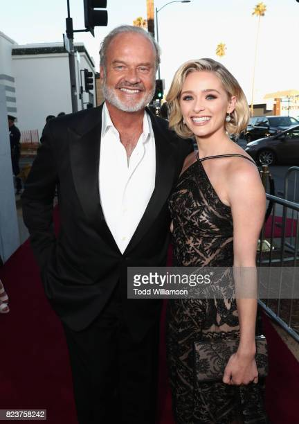 Actors Kelsey Grammer and Greer Grammer at the Amazon Prime Video premiere of the original drama series 'The Last Tycoon' at Harmony Gold Theatre on...