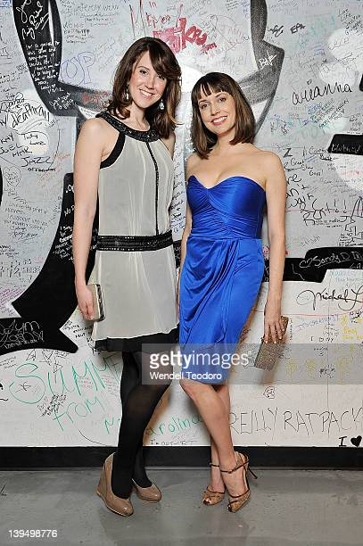 Actors Kelsey Robinson and Julie Ann Emery attends the 3rd Annual Indie Soap Awards at the New World Stages on February 21 2012 in New York City