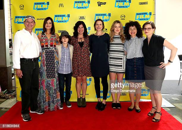 Actors Ken Strunk Betsy Brandt and Zev Haworth writer/director Annie J Howell writer/director Lisa Robinson actress Anna Margaret Hollyman producer...