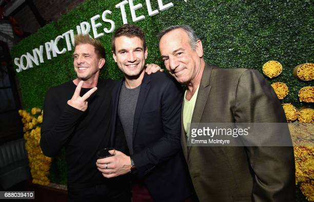 "Actors Kenny Johnson Alex Russell and Peter Onorati stars of the new Sony Pictures Television series ""SWAT"" attend the Sony Pictures Television LA..."