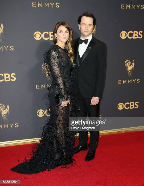 Actors Keri Russell and Matthew Rhys attend the 69th Annual Primetime Emmy Awards Arrivals at Microsoft Theater on September 17 2017 in Los Angeles...