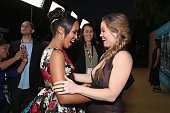Actors Kerry Washington and Erika Christensen attend the premiere of HBO Films' 'Confirmation' at Paramount Theater on the Paramount Studios lot on...