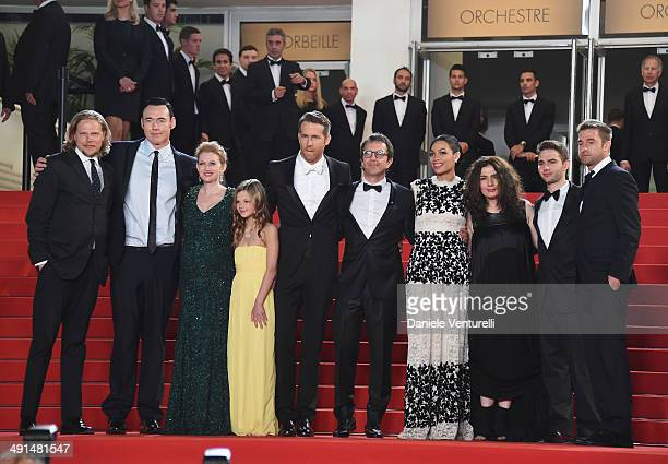 Actors Kevin Durand Mireille Enos Peyton Kennedy Ryan Reynolds director Atom Egoyan actress Rosario Dawson producer Arsinee Khanjian Arshile Egoyan...