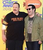 Actors Kevin James and Josh Gad attend Nickelodeon's 28th Annual Kids' Choice Awards held at The Forum on March 28 2015 in Inglewood California