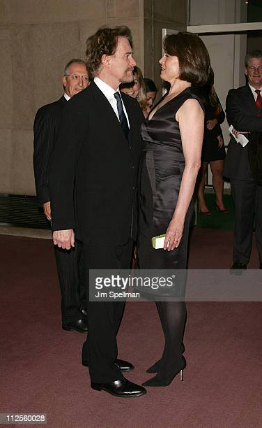 Actors Kevin Kline and Sigourney Weaver arrive at the 'Trade ' Premiere at The United Nations on September 19 2007 in New York City