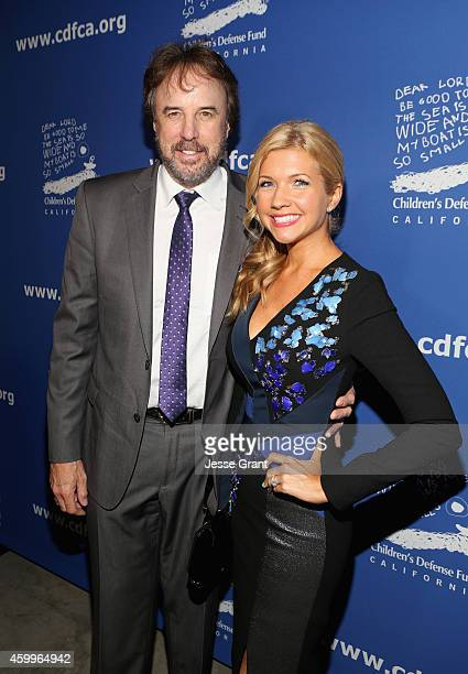 Actors Kevin Nealon and Susan Yeagley attend Children's Defense Fund California Hosts 24th Annual Beat The Odds Awards at Book Bindery on December 4...