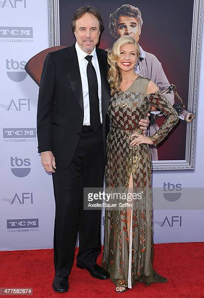 Actors Kevin Nealon and Susan Yeagley attend the 43rd AFI Life Achievement Award Gala at Dolby Theatre on June 4 2015 in Hollywood California