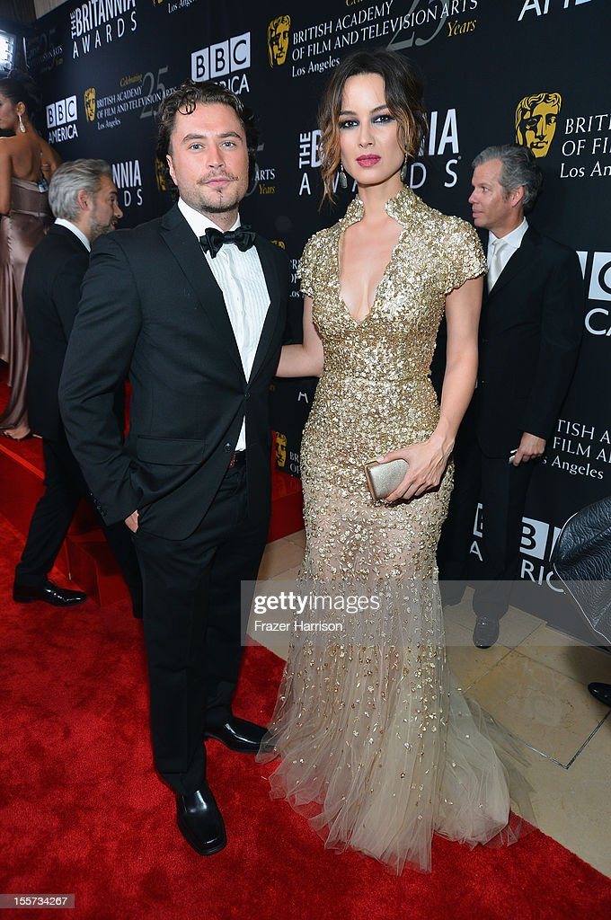 Actors Kevin Ryan and Berenice Marlohe arrive at the 2012 BAFTA Los Angeles Britannia Awards Presented By BBC AMERICA at The Beverly Hilton Hotel on...
