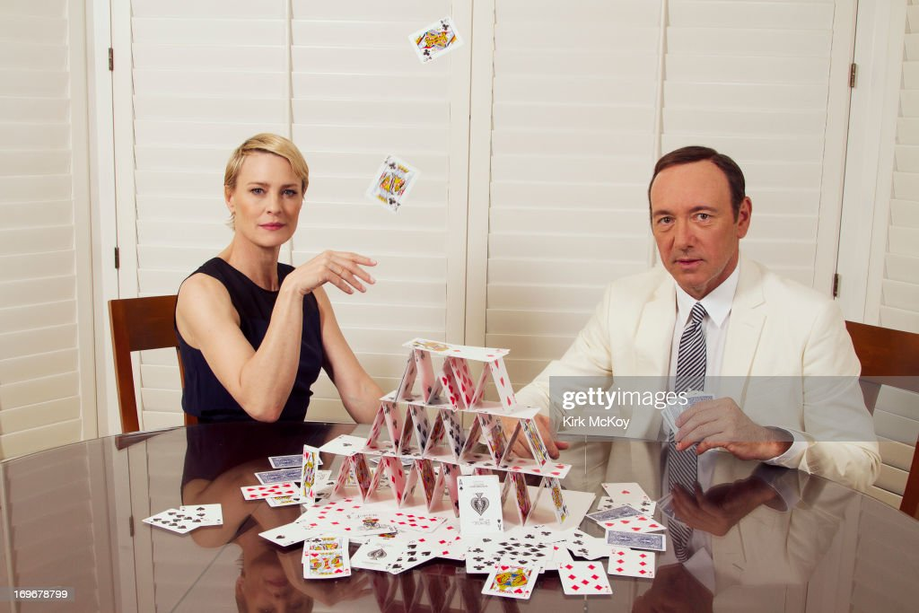 Kevin Spacey and Robin Wright, Los Angeles Times, May 30, 2013