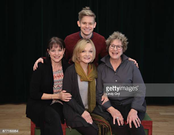 Actors Kim Crosby Cathy Rigby Pamela Myers and Andrew KeenanBolger participate in 'Kris Kringle The Musical' preview presentation at Ripley Greer...