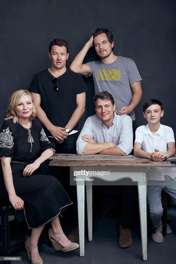 Actors Kirsten Dunst, Joel Edgerton, Michael Shannon and Jaeden Lieberher with director Jeff Nichols, 'Midnight Special' are photographed for The Wrap on March 13, 2016 in Austin, Texas.