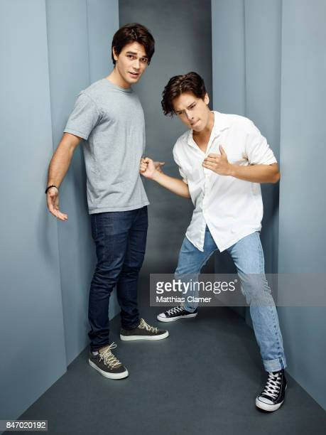 Actors KJ Apa and Cole Sprouse from 'Riverdale' are photographed for Entertainment Weekly Magazine on July 23 2016 at Comic Con in the Hard Rock...