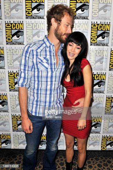 Actors Kris Holden Ried And Ksenia Solo Attend Lost Girl