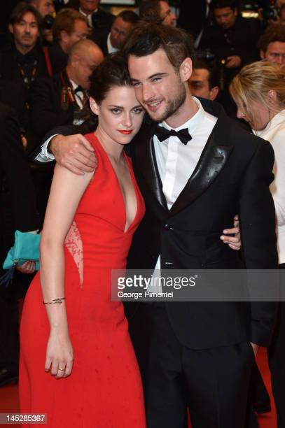 Actors Kristen Stewart and Tom Sturridge attend the 'Cosmopolis' Premiere during the 65th Annual Cannes Film Festival at Palais des Festivals on May...
