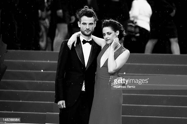 Actors Kristen Stewart and Tom Sturridge attends the 'Cosmopolis' premiere during the 65th Annual Cannes Film Festival at Palais des Festivals on May...