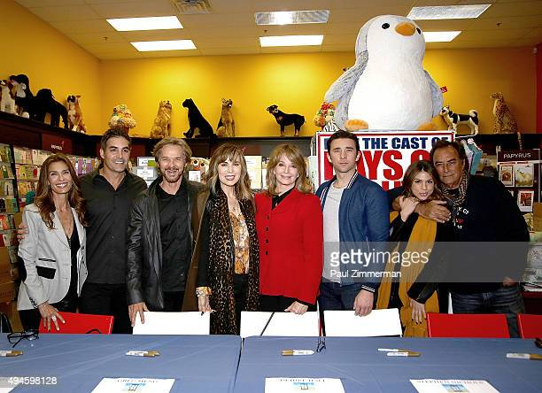 Actors Kristian Alfonso Galen Gering Stephen Nichols Lauren Koslow Deidre Hall Billy Flynn Kate Mansi and Thaao Penghlis attend Days Of Our Lives...
