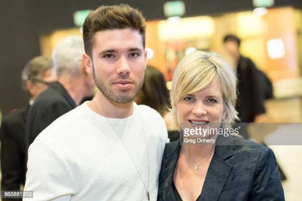 Actors Kristos Andrews and Mary Beth Evans attend the Cast Premiere Screening Of Lany Entertainment's 'The Bay' Season 3 at TCL Chinese Theatre on...