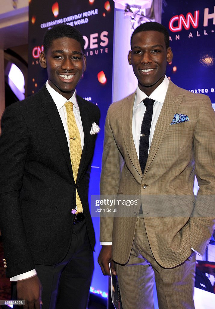 Actors Kwami Boateng and Kofi Siriboe attend the CNN Heroes: An All Star Tribute at The Shrine Auditorium on December 2, 2012 in Los Angeles, California. 23046_003_JS_0184.JPG