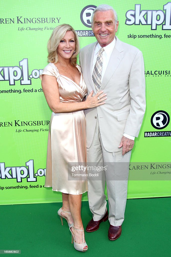Actors Kym Douglas (L) and Jerry Douglas attend the Skip1.org's 'Skip And Donate' gala event held at The Lot on April 6, 2013 in West Hollywood, California.