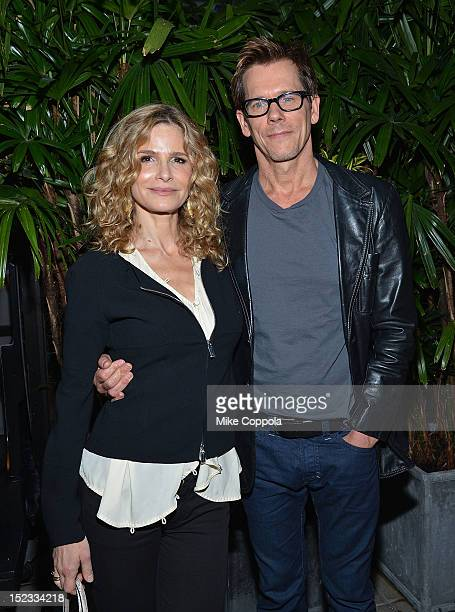 Actors Kyra Sedgwick and husband Kevin Bacon attend the Sundance Institute Alumni Event At IFP week at the Empire Hotel on September 18 2012 in New...