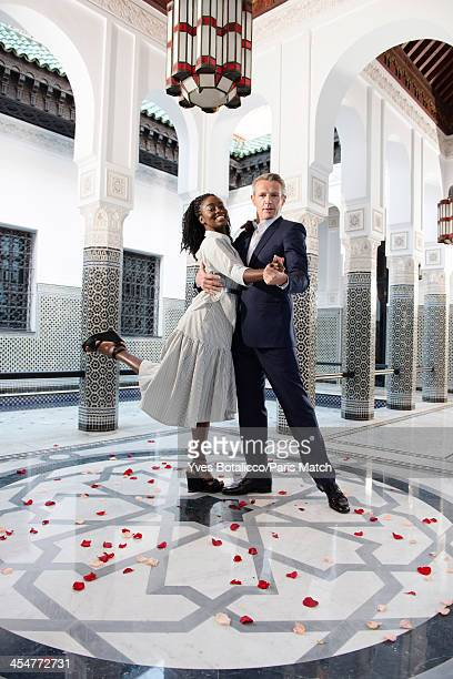 Actors Lambert Wilson and Aissa Maiga are photographed for Paris Match on November 29 2013 in Marrakech Morocco