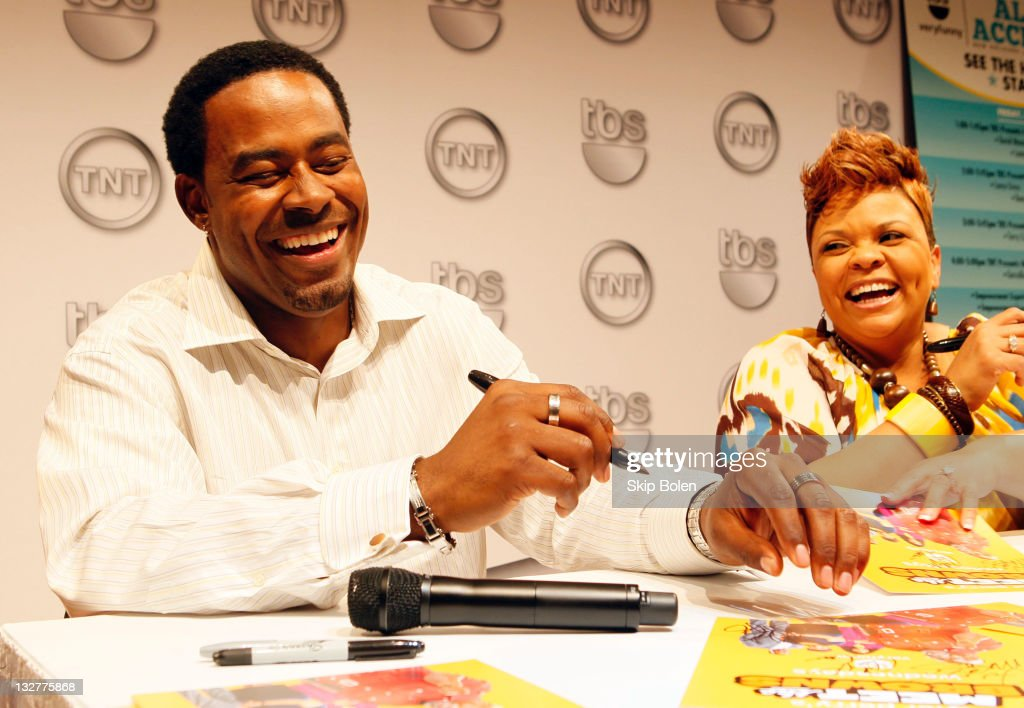Actors Lamman Rucker and Tamela Mann of the TBS show 'Meet the Browns' attend the