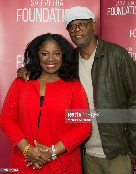 Actors LaTanya Richardson Jackson and Samuel L Jackson attend SAGAFTRA Foundation's Conversations with 'Grey's Anatomy' at SAGAFTRA Foundation...