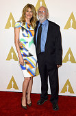 Actors Laura Dern and Bruce Dern attend the 87th Annual Academy Awards Nominee Luncheon at The Beverly Hilton Hotel on February 2 2015 in Beverly...