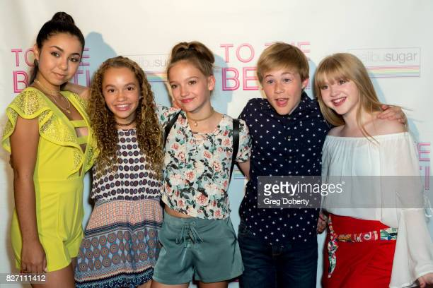 Actors Laura Krystine Jillian Shea Spaeder Jayden Bartels Casey Simpson and Kelly Grace arrive for the 'To The Beat' Special Screening at The Colony...