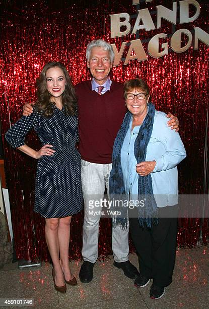 Actors Laura Osnes Tony Sheldon and Singer Helen Reddy attend the at New York City Center on November 16 2014 in New York City
