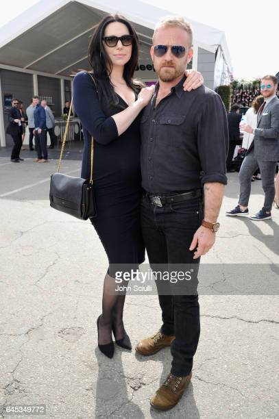 Actors Laura Prepon and Ben Foster attend the 2017 Film Independent Spirit Awards sponsored by Jeep at Santa Monica Pier on February 25 2017 in Santa...