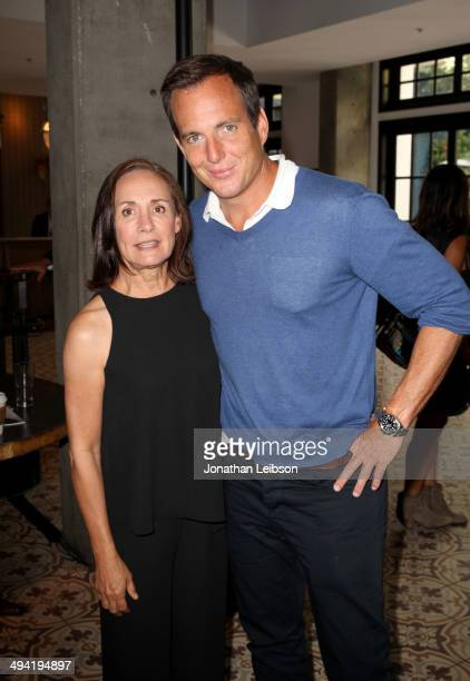 Actors Laurie Metcalf and Will Arnett attend the Variety Studio powered by Samsung Galaxy on May 28 2014 in West Hollywood California