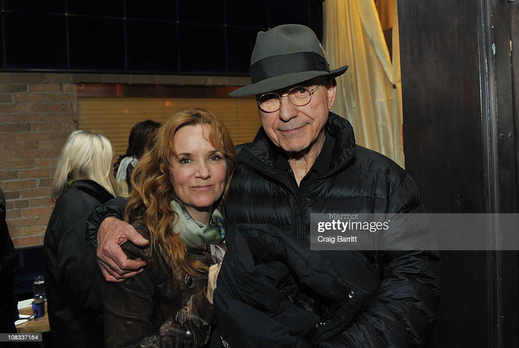 Actors Lea Thompson and Alan Arkin attend the 'The Convincer' Dinner At Silver on January 25 2011 in Park City Utah