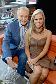 Actors Lee Majors and Faith Majors attend the STARZ San Diego ComicCon Cocktail Party on July 22 2016 in San Diego California