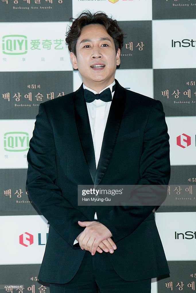 Actors <a gi-track='captionPersonalityLinkClicked' href=/galleries/search?phrase=Lee+Sun-Kyun&family=editorial&specificpeople=4682222 ng-click='$event.stopPropagation()'>Lee Sun-Kyun</a> attends the 51th Baeksang Arts Awards on May 26, 2015 in Seoul, South Korea.