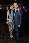 Actors Lena Hall and Bryan Cranston attend the 2014 Tony Honors Cocktail Party at the Paramount Hotel on June 2 2014 in New York City